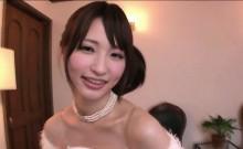 Petite Japanese gets to be pleasured