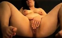 Chubby Mommy Masturbates And Shows Her Pussy