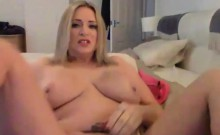 Dirty talking busty blonde with a sexy accent