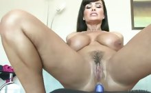 Horny Lesbian Milf gets her ass fucked with big toys