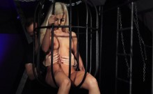 Exqusite barbie girl bdsm imprisoned
