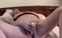 Lustful mature gets soaked wet twat fingered