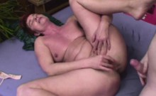 Lovely Grandma Marketa Anally Pounded By Young Cock