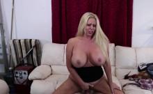 Busty Karen Fisher gets fucked hard