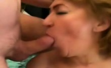 Nasty Grandma Jitka Calls The Attention Of A Younger Dick