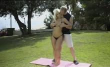 Big Ass Big Tits Yoga Student Fucks The Instr