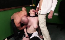 Peculiar bombshell gets jizz load on her face swallowing all