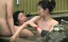 Sultry Asian ladies drop their clothes and get together in