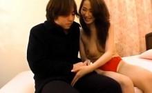 Asian Babe Enjoys Sucking Cock In Position 69