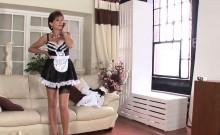 Unfaithful british milf lady sonia shows her big boobies
