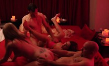 Lovely Chicks Swapping Partners For Fun In Orgy