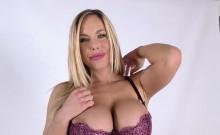 Busty Blonde Olivia Austin Tastes Black Cock