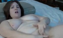 Hot BBW GF Plays with Pussy and Ass!