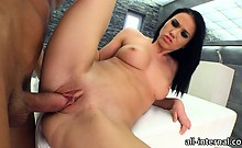Sexy Denise Sky pounded and creampied