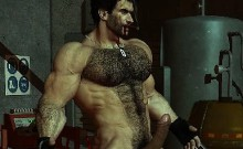 Muscles And 3d Huge Cocks!