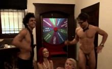 Busty babes swap partners in swinger reality show