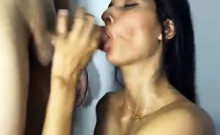 Spectacular Cam Girl Gets Creampie