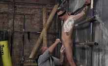 Tight Ass Michael Wyatt Shaved And Drilled By Sebastian