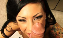 Mason has her bf video tape some POV action fucking in her