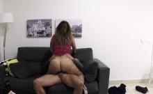 Fake Cop Watching Web Cam Babe Masturbating