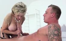 Unfaithful English Mature Lady Sonia Shows Her Massive Boobi
