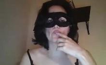 Hottest Amateur Mature Lady Gangbanged On Webcam
