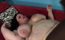Large BBW Takes On Massive Black Cock