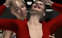 Her First Lesbian Fun In A Club