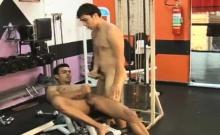 Two Latino Intense Training With Hardcore Anal Fucking
