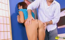 Fine-Assed Latina Hottie Gives And Takes