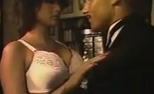 Classic Busty Slut Fucking
