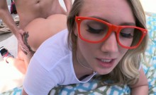 AJ Applegate anal fucked and squirting at the same time!