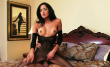 Brunette babe Chloe Amour suck and fuck