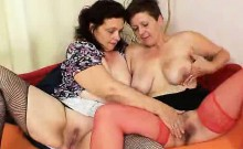 Older shorthaired woman lesbian action plus other wifey