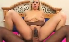Thick Black Cock For This Blonde Whore