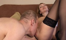 Steaming mature playgirl is crazy about sucking and pounding