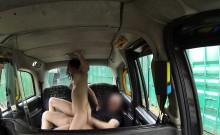 Porn actress bangs fake taxi driver in public