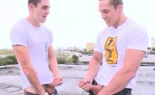 Men displaying their cocks outdoors gay I ask to do some biz