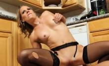 Small Tits Blonde In Black Stockings Fucked Alyssa Dutch
