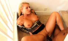 Special BBC delivery for blonde Mellanie Monroe