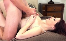 Jessica Receives a Special Pearl Necklace After She Fucks