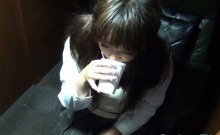 Japanese teen wets bed