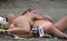 Real amateur nudist beach hidden cam video