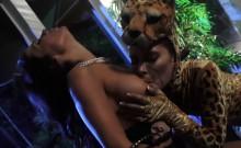 Wonder Woman Fucks A Leopard Babe