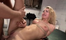 Alina West gets plowed in various positions