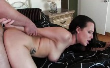 Sensual girl gets fucked after seducing