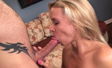 Big dick up the ass for blonde MILF