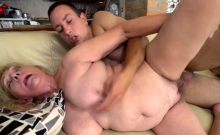 Hairy Granny Gets A Good Cock