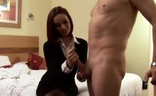 Stockings Amateur Tugging Dick