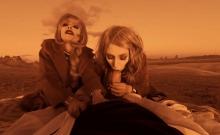 VRBangers.com-Two hot blonde babes fucking hard on mars